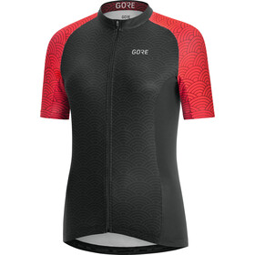 GORE WEAR C3 Ondasia Maillot Mujer, black/hibiscus pink